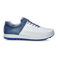 Ecco Mens Biom Hybrid 2 Golf Shoes Concrete/White/D. Blue