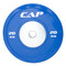 20 kg CAP Olympic Rubber Competition Bumper Plate with Steel Insert, blue