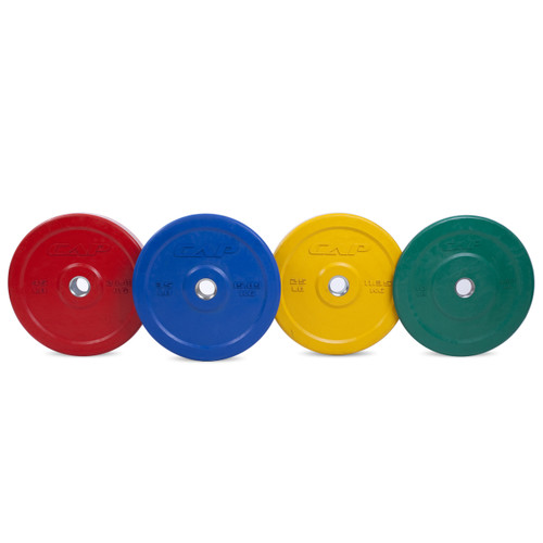 Multiple colors of CAP Olympic Rubber Bumper Plate