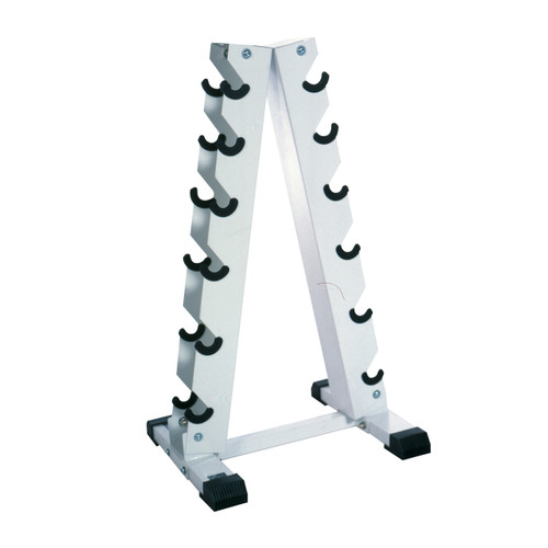 CAP A-Frame Dumbbell Rack, angled view