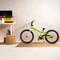 Bike on CAP 4-Piece Foam Tile Flooring with Wood Style Pattern