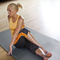 CAP 6-Piece Foam Tile Flooring with Yoga Mat Texture
