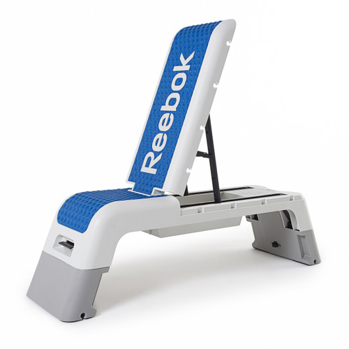 Reebok Professional Deck Workout Bench, bench position