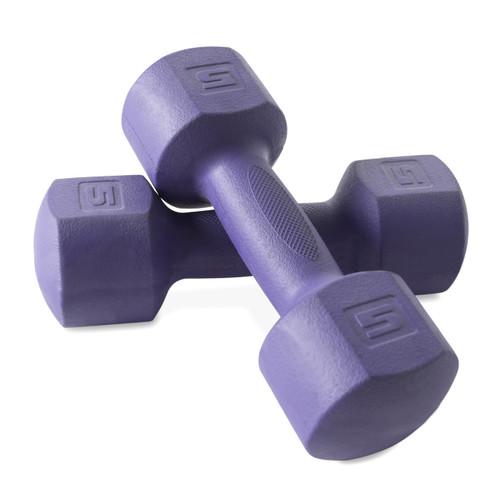 CAP Fitness ECO Dumbbells, 5 lb each