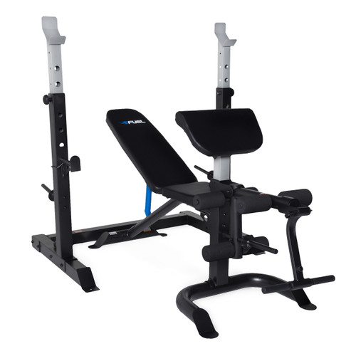Fuel Pureformance Olympic Bench with Squat Rack