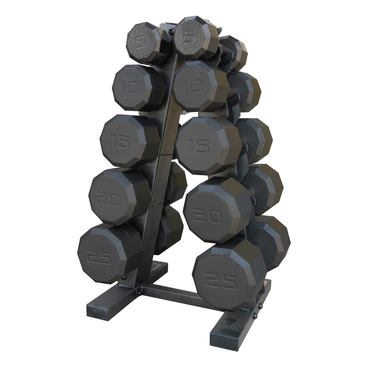8d83eca428e CAP 150 lb Dumbbell Set with Rack (SDBS-150)
