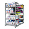 CAP 4-Sided Commercial Accessories Metal Storage Rack