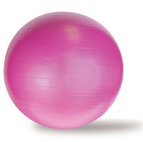 CAP Yoga Gym Ball, Pink, 65 cm