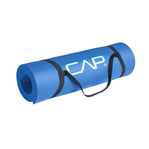 CAP High Density 15mm LARGE Exercise mat with carrying strap