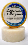 Bath & Soul Handmade Shave Soap - Cedarwood & Bergamot