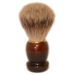 Zenith Badger Shaving Brush, T/Shell