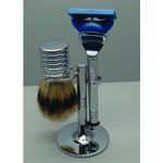 Comoy Shave Set with Brush - Fusion