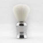 Zenith Shave Brush, Synthetic Bristle, Aluminium