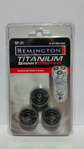 Remington Titanium Smart System Heads and Cutters