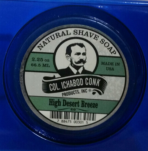 Col Conk High Desert Breeze Shave Soap