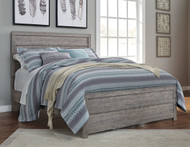 Culverbach Gray Queen with Full Panel Headboard