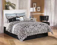 Bostwick Shoals White Queen with Full Panel Headboard