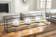 Jadyn Black Candle Holder