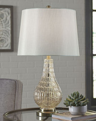 Latoya Champagne Glass Table Lamp (1/CN)