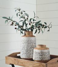 Meghan Tan/Black Vase Set (2/CN)
