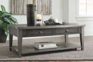 Branbury Gray Rectangular Cocktail Table