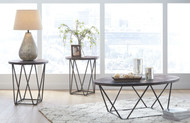 Neimhurst Dark Brown Occasional Table Set (3/CN)