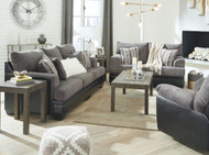 Millingar Smoke Sofa, Loveseat & Rocker Recliner