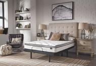 10 Inch Bonnell PT White California King Mattress & Adjustable Base