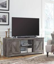 Wynnlow Gray LG TV Stand w/Fireplace Option