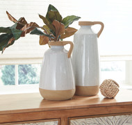 Tilbury Cream Vase Set (2/CN)