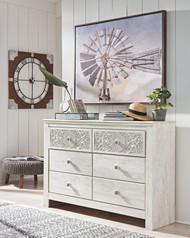 Paxberry Whitewash Dresser
