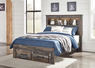 Drystan Multi Full Bookcase Headboard