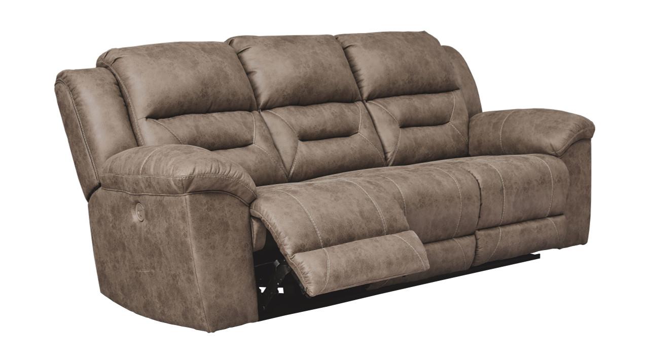 Stupendous Stoneland Fossil Reclining Power Sofa Unemploymentrelief Wooden Chair Designs For Living Room Unemploymentrelieforg