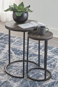 Briarsboro Black/Gray Accent Table Set