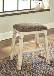 Bolanburg Two-tone Upholstered Stool
