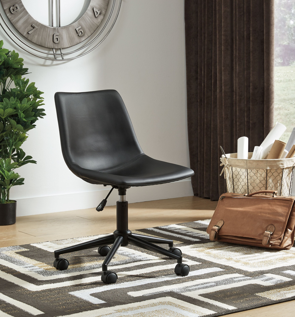Image of: The Office Chair Program Black Home Office Swivel Desk Chair Sold At Outten Brothers Of Salisbury Proudly Offering Quality Furniture Since 1947 To Salisbury Md And The Surrounding Areas