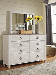 Willowton Dresser- Two-tone