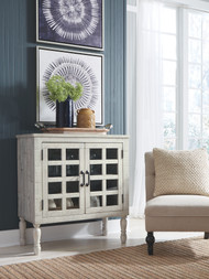 Falkgate Whitewash Accent Cabinet