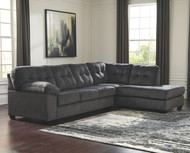 Accrington Granite Left Arm Facing/Right Arm Facing Sectional