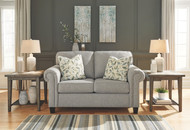 Alandari Gray Loveseat