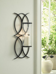 Bryndis Black Wall Sconce