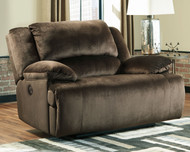 Clonmel Chocolate Zero Wall Power Wide Recliner