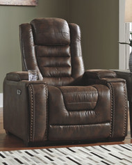 Game Zone Bark Power Recliner/ADJ Headrest