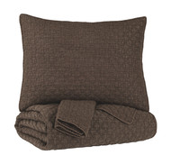 Ryter Brown King Coverlet Set