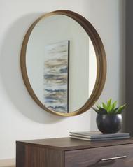 Elanah Gold Finish Accent Mirror