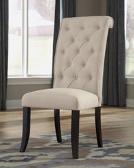Tripton Upholstered Dining Side Chair- Linen