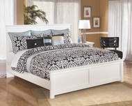 Bostwick Shoals White King Panel Bed
