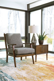 Zardoni Charcoal Accent Chair
