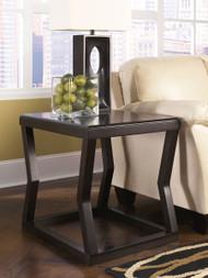 Kelton Espresso Rectangular End Table