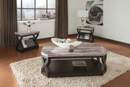 Radilyn Grayish Brown Occasional Table Set